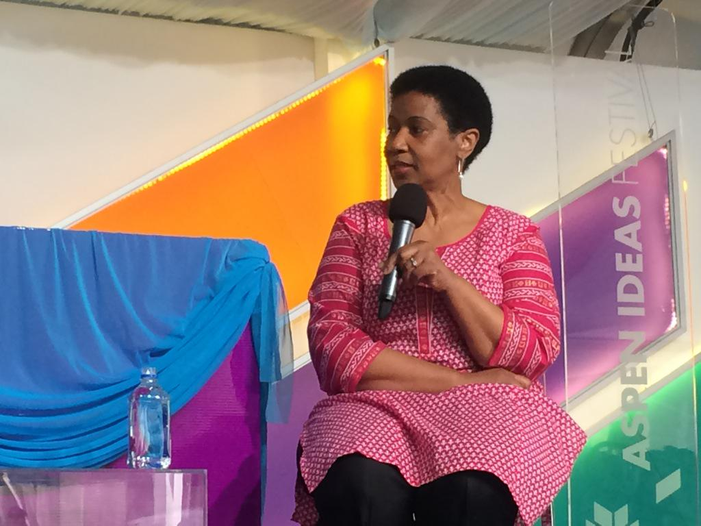 In many parts of world, it's more dangerous to be a girl than a soldier. -Phumzile Mlambo-Ngcuka #spotlighthealth http://t.co/6pcBDFVJl9