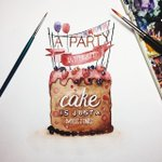 Watercolor Lettering Quotes by June Digan http://t.co/8yz5Yd2zo4 http://t.co/bmhevpBGrA