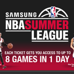 The @NBASummerLeague returns 7/10-20 in Las Vegas!  Schedule: http://t.co/V7VHggIIYc  Get Tix: http://t.co/EpdZhLFxGK