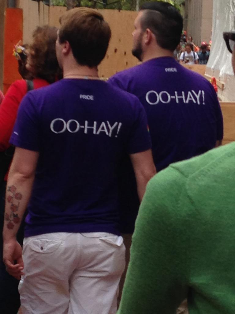 Yahoo wins best corporate Pride T-shirts hands down http://t.co/J7ySJSAIAU