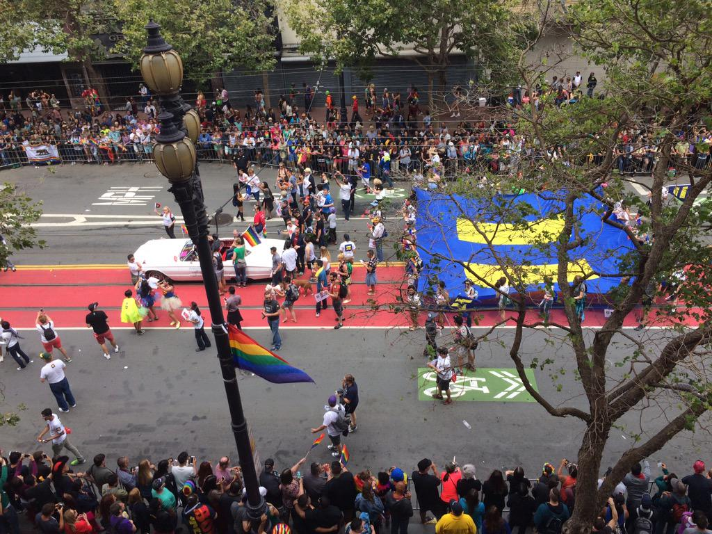 Jim Obergefell and @HRC at #SFPride http://t.co/JKtSjvIEu5