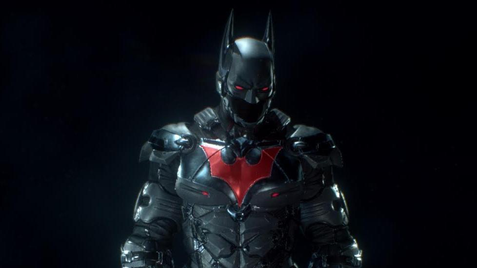 every batman  arkham knight costume and batsuit
