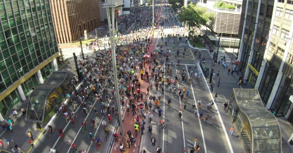 lindo demais ver a av. paulista desse jeito. parabéns à cidade pela nova ciclovia! #bikesp http://t.co/ty2r38Xhqa