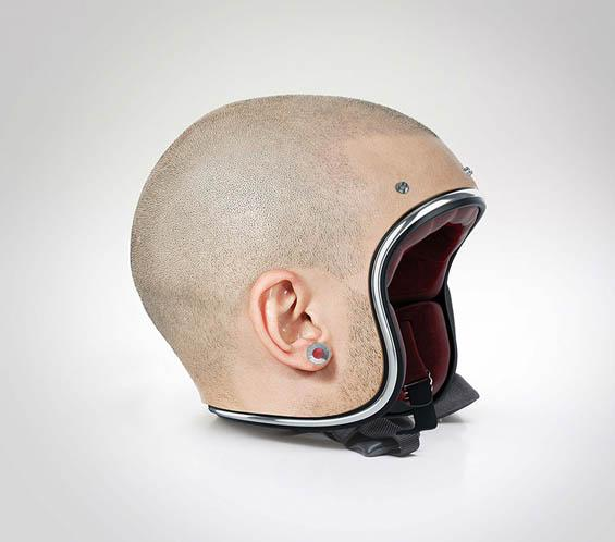 Jyo John Mulloor's Customized Bike Helmets That Look Like Shaved Heads http://t.co/ZMIO6f4hPz via @beautifuldecay http://t.co/bgRIpUJ1OF
