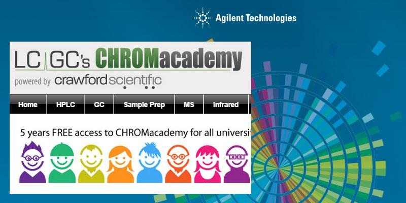 5 years free access to #CHROMacademy #Chromatography #MassSpec #university http://t.co/1S8jGHsh3E http://t.co/tfWo8aRqjk