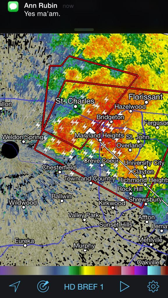 Bree Smith (@BreeSmithWx): Maryland heights basement now #tornado #stlwx #ksdkwx #ksdk http://t.co/8ZM1hewCUC