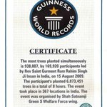 """#MSGTreePlantationDrive 🌴DSS has made many World records in Tree plantation under guidance of MSG #TheSuperHuman http://t.co/q3XCwWOg4g"""""""