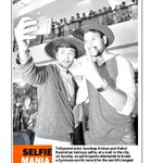 RT @MelanieWF: Selfie mania with @sundeepkishan & #Rahul ... #GuinessWorldRecord http://t.co/8eMEaRZa3j