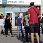 #GREECE: Banks to Remain Closed for Week Until Referendum (RT) http://t.co/nbynD25VbO #Politics #Business #News