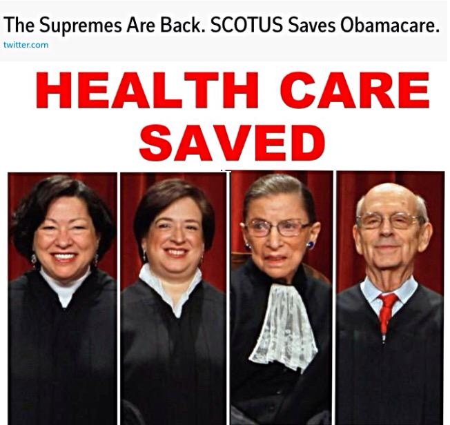 Three Gals and a Guy do it Again ❗️👍 🇺🇸  who said #SCOTUS was a pack-o-CONservative RepubliCON phonies❓#ctl #tcot http://t.co/7keyp8Rvg9
