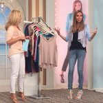 Luv u! RT @AmyMorrisonHSN: It's always fun talking about fashion w/ the sweet & stylish @GiulianaRancic! #HSNFashion