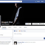 RT @aaratiii: Hey! Please check the official page of @AnupamPkher on facebook here > https://t.co/yIt2wj2zCa :)