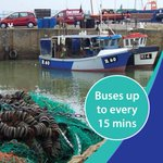 Whitstables summer w/e and b/h park and ride service starts this Saturday! http://t.co/kYVT4H6f9k http://t.co/FYnUJG0E7c