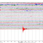 Heres a seismograph image from a sensor in Vicksburg. It looks like a quake, but well see what the USGS has to say. http://t.co/mK4VqoIWzF