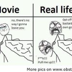 RT @MayuriUpadhya: Lol..diff bween real life and reel life.
