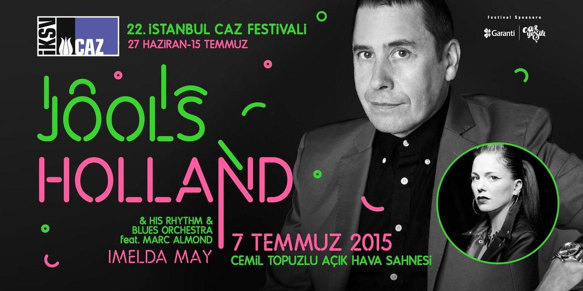 BBC2'daki kült televizyon programıyla tanınan usta piyanist, enerjisi hiç bitmeyen dev orkestrasıyla İstanbul'da. http://t.co/8LlD1Fds47