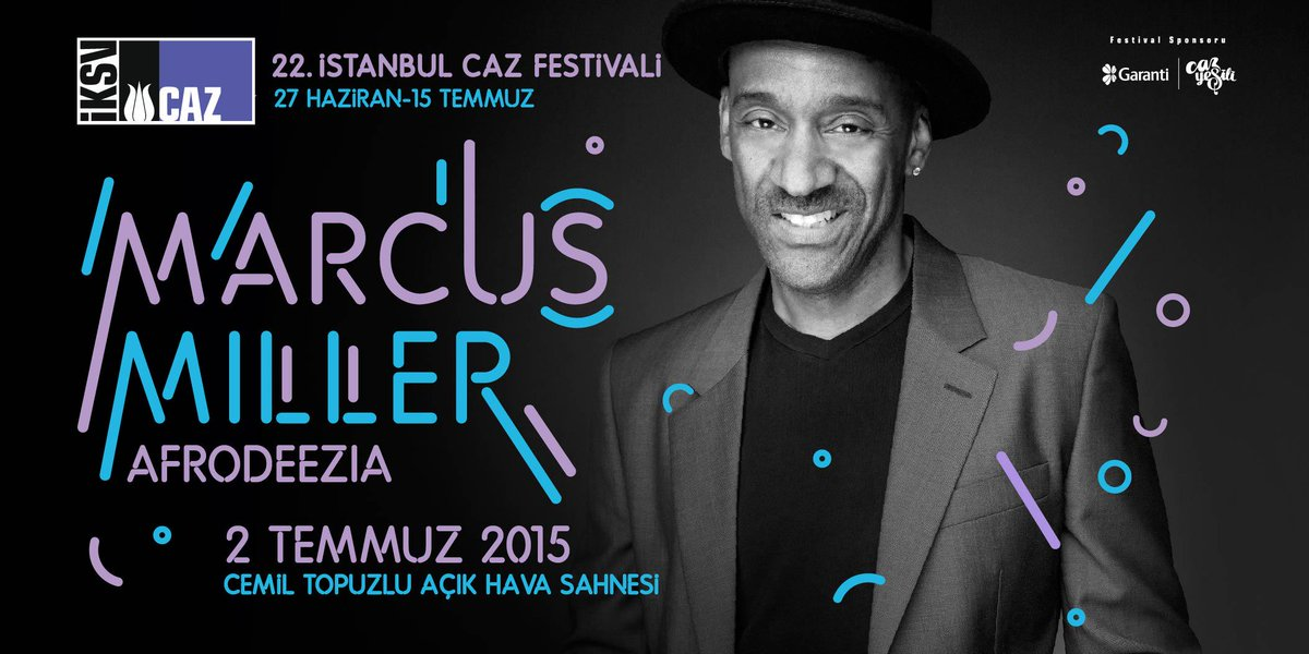 Grammy ödüllü bas dehası, Afrika'dan Amerika'ya sürükleyici bir yolculuk vaat eden yeni projesiyle İstanbul'da. http://t.co/Y38BUthc2R