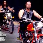 A @WWE Superstar riding to the ring on a motorcycle ALWAYS means business! http://t.co/y92ojBFR2M @FRAM_Filters http://t.co/05fiLOPRuF