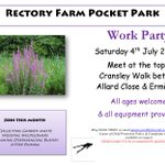 Evening #NorthantsHour. Rectory Farm Pocket Park group meets this Saturday 4 July, join us http://t.co/uRIGjMuLhh http://t.co/Uzhr0rNAa9