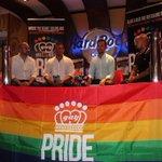 """En la presentación del primer @ibizagaypride un evento tan importante como necesario. """"El color vuelve a casa"""" #Ibiza http://t.co/ojKPJE1lSD"""