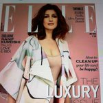 The summer's gone hotter !! My .@mrsfunnybones is sparkling on the cover of .@elleindia