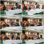 RT @MelanieWF: #Tiger movie success meet @ Vijayawada!! @sundeepkishan @23_rahulr @kaushikr59 http://t.co/rJQxdSkjeH