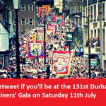 Less than two weeks to go until 131st Durham Miners Gala! http://t.co/r3twAB0dZl