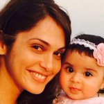 Bollywood @ 13 megapixels - Isha Koppikar with her daughter Rianna