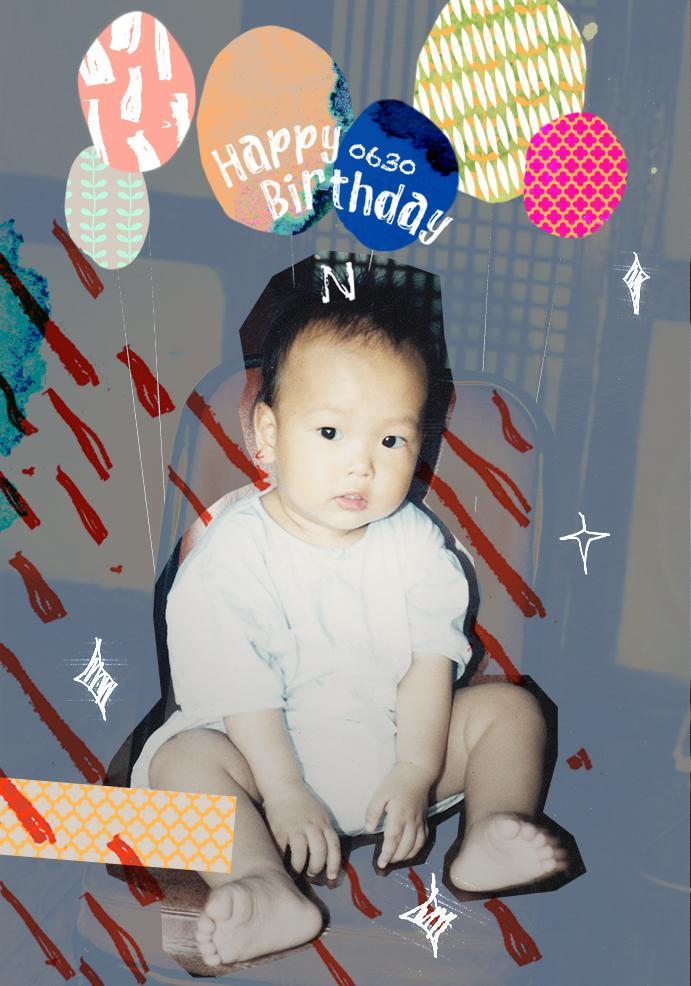 RealVIXX (@RealVIXX): 나는 로빅이다. #빅스 리더 #엔 요원의 생일을 맞이하여 어린 시절 추억이 담긴 깜찍한 사진을 공개한다. 150630 엔요원의 스물여섯번째 생일을 진심으로 축하한다. #HAPPYNDAY http://t.co/1zeYwQ8AOY