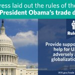 """The second bill...renews and expands the Trade Adjustment Assistance program"" —@POTUS #LeadOnTrade http://t.co/tdDdVJTWyE"