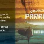 Organizing in paradise—the only thing missing is you: http://t.co/lK2k5bvys4