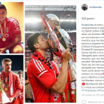 Benito (@_lorisbenito) despede-se do Benfica, no Instagram. http://t.co/hdltM95OUI