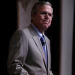 "Jeb Bush calls the Confederate flag a ""racist"" symbol as he campaigns in South Carolina http://t.co/3KkwsHsAq6 http://t.co/e0e1uY2elh"