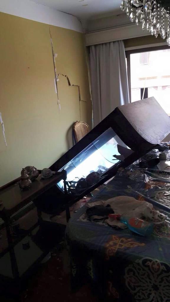 لأ الصورة مش من قصف ف-١٦ في غزة، الصورة من تفجير اليوم في مصر..  http://t.co/lIGjLTtQjW