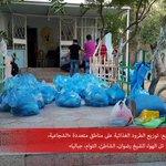 قامت #حملة_الإحسان في 7 أيام فقط، بتوزيع 273 طرد غذائي على عدد من العائلات المستورة في غزّة. وما زلنا مستمرون.. http://t.co/lAstFyGF47
