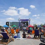 If you cant make it to #SW19, watch the #Wimbledon action on these big screens across #London http://t.co/z1W1DwebYk http://t.co/b8pGJk5EX1