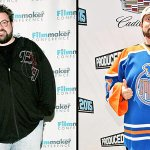 RT @people: .@ThatKevinSmith celebrates his 85-lb. weight loss with a funny throwback pic  http://t.co/oWNhLOYgoI http://t.co/7GPdVXmTNV