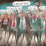 HE WOULD NOT YIELD @FinancialReview @PoliticsFairfax #qanda #auspol http://t.co/z5JjLgHQEj