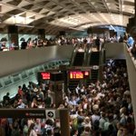 Chaotic commute at Farragut North, repeats. #Wmata http://t.co/8wXwjLZYKo