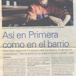 """Llevo el potrero en la sangre y no lo voy a perder"""" El pibe @carlitos3210 a los 17 años ( via @PelosiJose) http://t.co/kQ4NWp1iLi"""