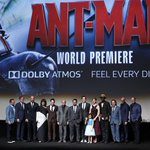 The gangs all here! From the cast + crew, thanks for watching the #AntManPremiere! See #AntMan in theaters July 17. http://t.co/bggRaL3dV3