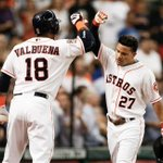 Astros win 1st game in battle of ALs best teams as Jose Altuve and Chris Carter each hit HR to beat Royals, 6-1. http://t.co/PX2LskMqE5