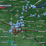 Wondering where the big hail hit today...wonder no more. Here are the hail reports from the past 12 hours @myfox9 http://t.co/eeVnIK9W4l