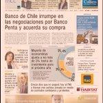 Y mientras los hinchas celebran... @bancodechile compra el #BancoPenta http://t.co/FVcjrtVqtz para encubrir la chanteria @carfanatichile