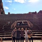 Denver. Red rocks. Feeling incredibly honoured to be opening up for this legend. Lets goooo @edsheeran http://t.co/ZvXZrt85WK