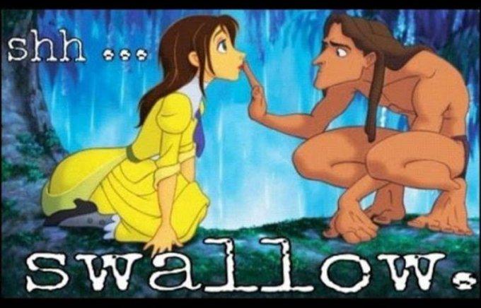 If u love him, u will ?? #Swallow http://t.co/gJB8rdFkt2