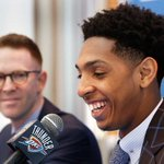 NEW Thunder podcast: @anthonyVslater @DarnellMayberry @BerryTramel on free agency, @campayne http://t.co/4kExfmTPjA http://t.co/GyLSn9Qevq