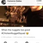 GO WATCH @camerondallas 📼 NEW VINE #ChickenNuggetSquad 🎥 LIKED ✔️ REVINED ✔️ FOLLOW ✖️ http://t.co/4DFSHR0dIC x62