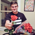 I bought roses just to force @ryanjreilly to take this embarrassing photo #TheBachelorette http://t.co/zWmRzqK58K