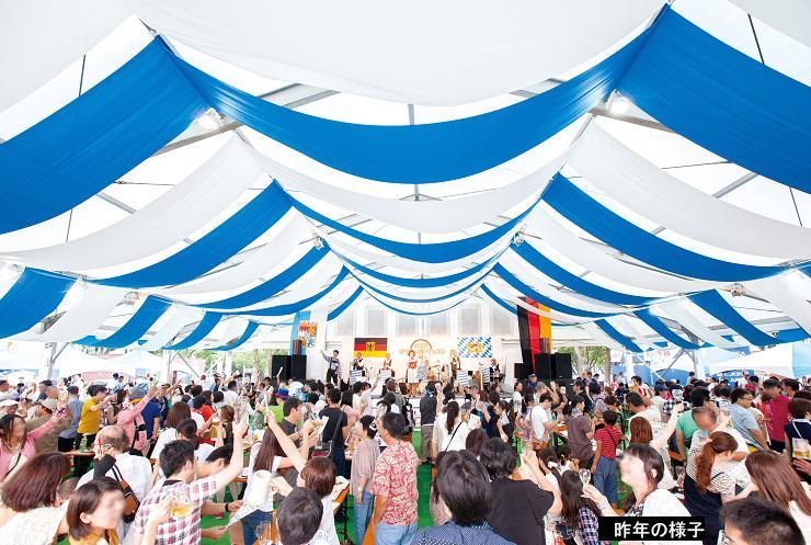 名古屋市中区の久屋大通公園で、7月4日~20日まで『名古屋オクトーバーフェスト2015』が開催!ドイツビール・ドイツワイン、ソーセージなどのドイツ郷土料理を、本場の音楽とともに楽しめます。⇒http://t.co/bRSX63EHkX http://t.co/iyMukOrUEl